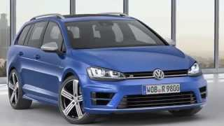 New Volkswagen Golf R Estate Revealed