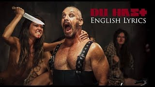 "RAMMSTEIN ""Du Hast"" English Lyrics HD"