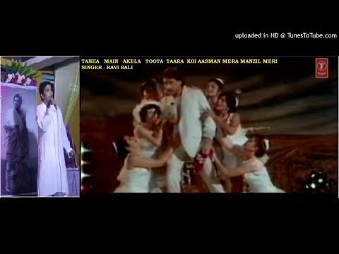Ravi bali from kishore kumar fans association sings -----tanha main akela ,toota tara koi