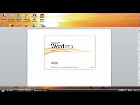 How to scan a Document in Microsoft Office Word 2010