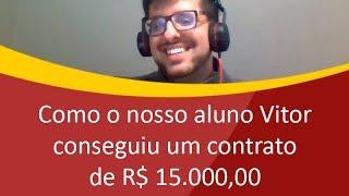 Como o nosso aluno Vitor conseguiu um contrato de R$ 15.000,00 - Como Vender Sites e Sistemas
