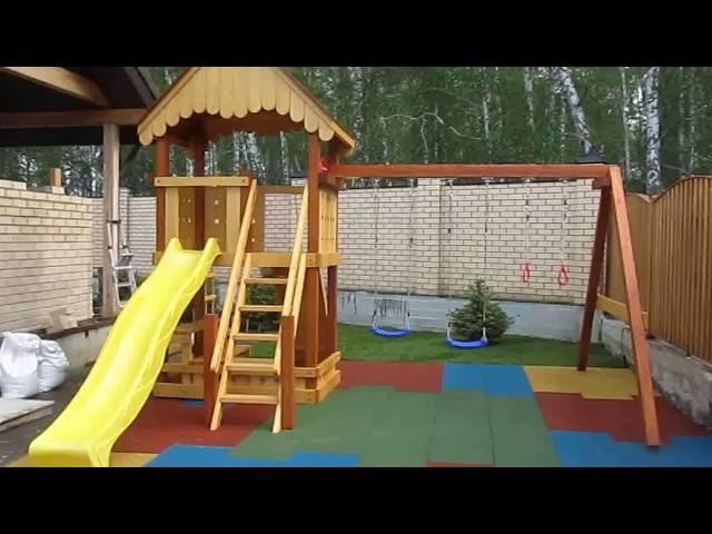 Как мы собрали детскую площадку для дачи