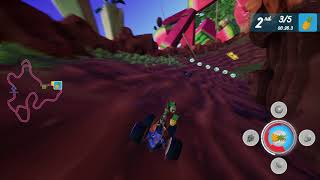 All-Star Fruit Racing - Gameplay #3 (PC/Early Access)