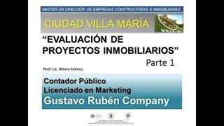 Barrio Cerrado Ciudad Maria -  Presentación Final - Descripcion General y Estudio de Mercado