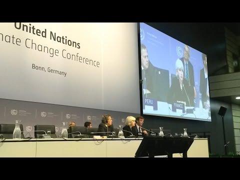 Peru and France Explain Paris Pre-COP and COP21 Leaders Event