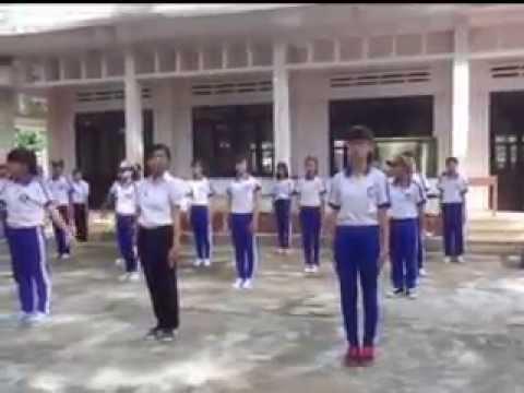 Bài thể dục giữa giờ Trường THPT Nguyễn Trãi