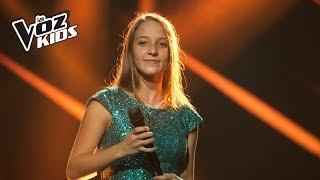 Juanita canta No Te Pido Flores - Audiciones a ciegas | La Voz Kids Colombia 2018