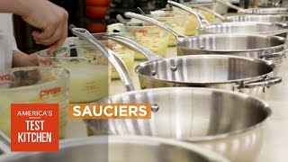 Equipment Review: Best Sauciers (Rounded Saucepans with Wide-Mouth Design) & Our Testing Winner