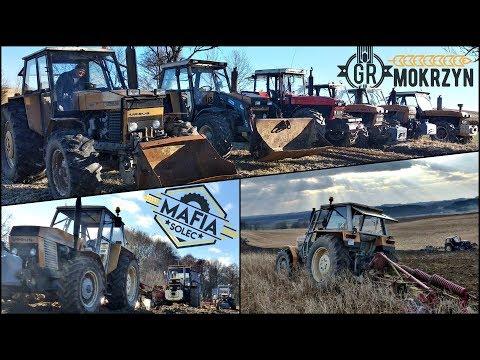 Rozpoczęcie Sezonu w GR Mokrzyn ☆ Wiosna 2019 ☆ Orka na 6x ciągników ☆ Vlog GoPro ㋡ MafiaSolec