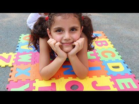 سوار-تبحث-عن-الحروف-|-abc-song-|-sewar-pretend-play-learning-alphabet-w/-toys-&-nursery-rhyme-...