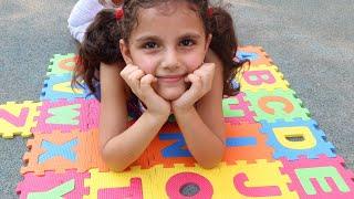 سوار تبحث عن الحروف |  ABC Song | sewar Pretend Play Learning Alphabet w/ Toys & Nursery Rhyme ...