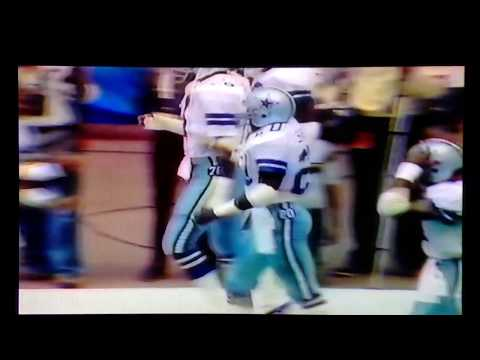 1983 Tampa Bay@Dallas Danny White 80yd TD pass to Ron Springs