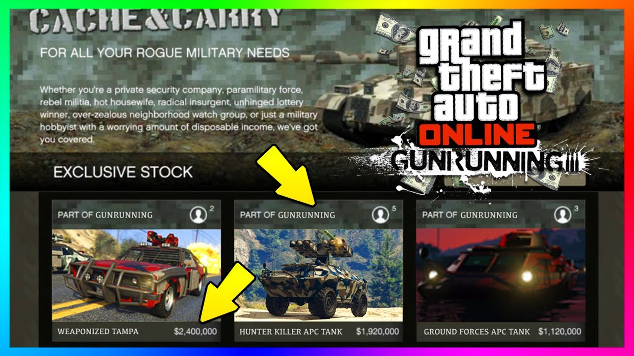 Gta V Where To Buy Smugglers Run Cars