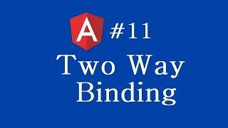 angular 2 tutorial 11 two way binding