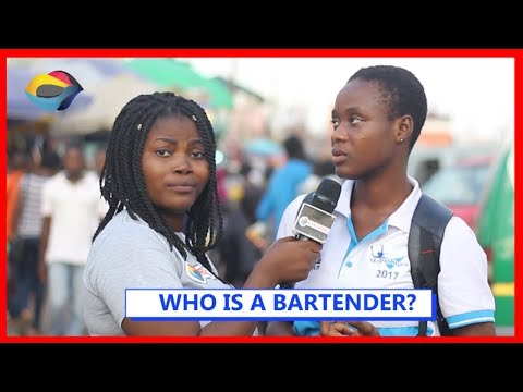 WHO IS A BARTENDER? | Street Quiz | Funny Videos | Funny