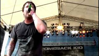 Comeback Kid Live Wake The Dead Tribal Area