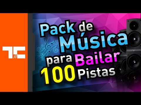 Pack de Musica para Bailar 100 Pistas