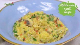 Reteta - Pilaf de post cu ciuperci | Bucataras TV
