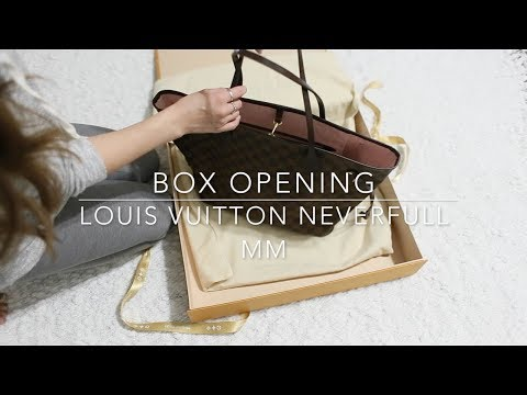 Box Opening -  Louis Vuitton Neverfull