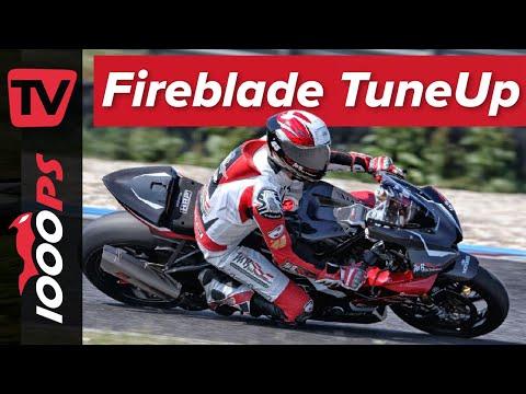 Ein halbes Jahr Arbeit! Honda Fireblade RR-R wurde zum siegfähigen Superbike Renngerät umgebaut