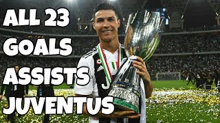 Cristiano Ronaldo All 23 Goals & Assists - Juventus 2018/19