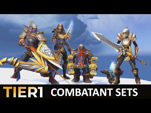 Alliance Warfront Sets | Battle for Azeroth | Combatant Sets