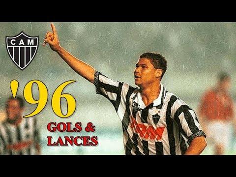Atlético Mineiro - Gols & Lances Temporada de 1996  Taffarel Renaldo Euller