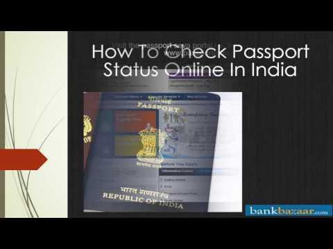 Check Passport Status Online - India
