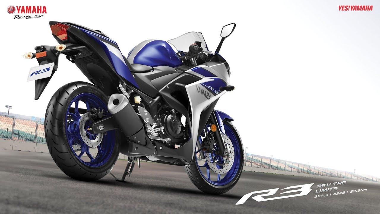Yamaha YZF R3 Test Ride 320cc A2 Licence Sports Bike Review