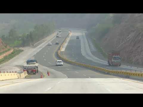Beauty of Salt Range - Kallar Kahar - M2 Motorway - Pakistan 13 March 2018 HD