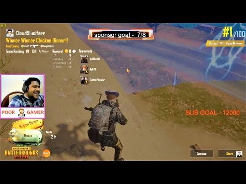 without guns (GUN GLITCH)😱 chicken dinner in CUSTOM SERVER of PUBG mobile II BEST funny moment😂😂