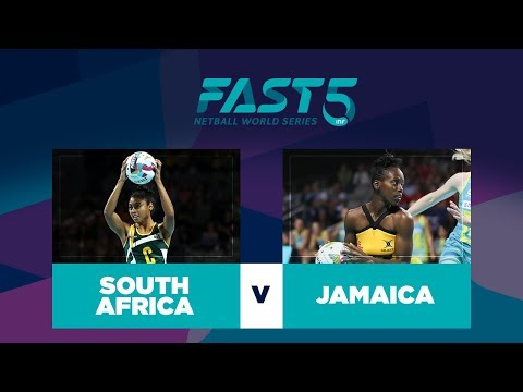 South Africa v Jamaica | Fast5 World Series 2017