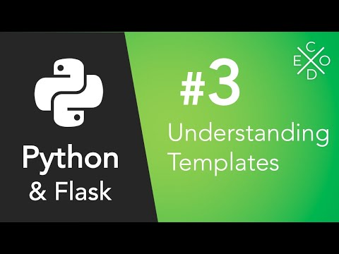 Python and Flask - Understanding Templates and Jinja