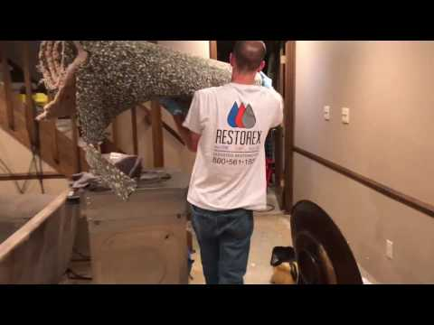 Carmel Indiana Flooded Basement Cleanup