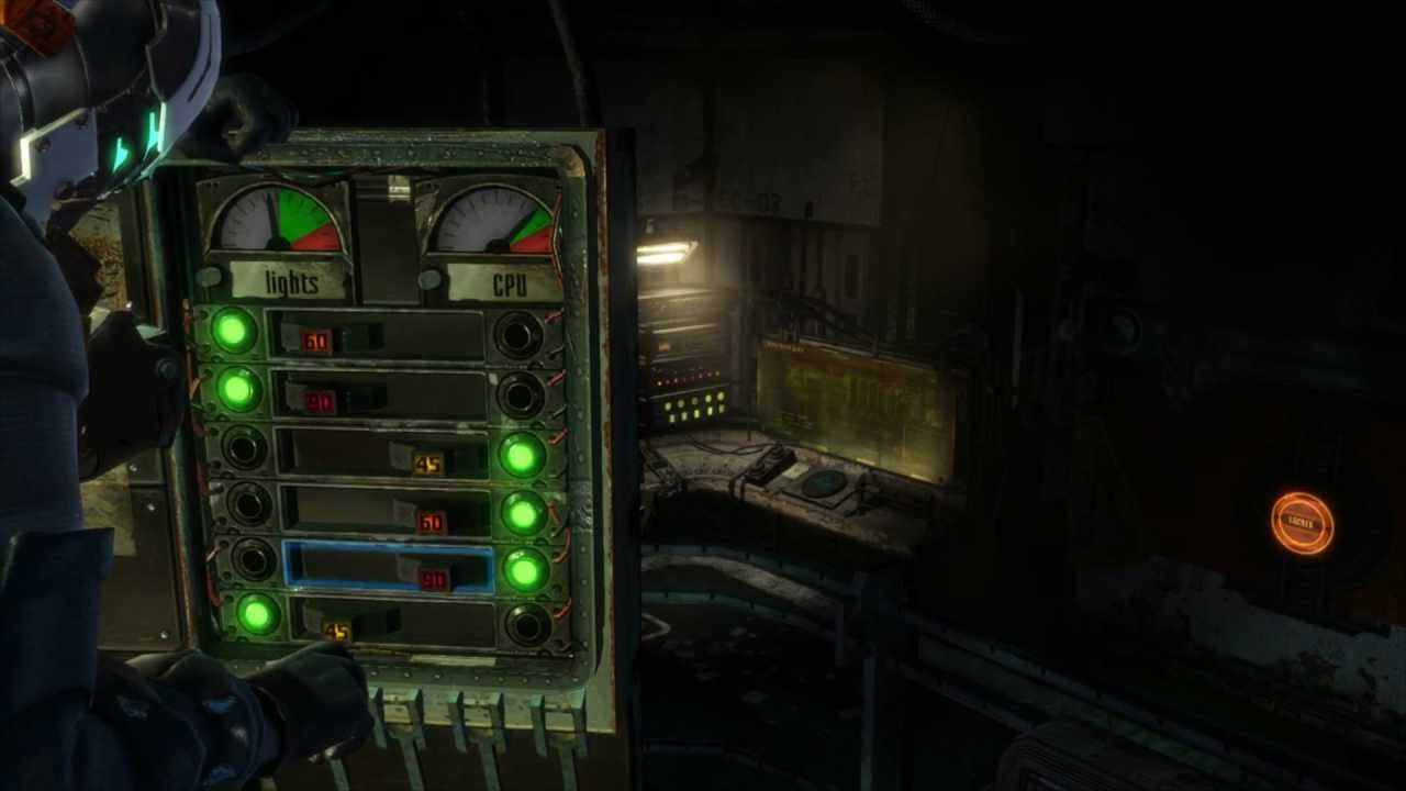 maxresdefault dead space 3 lights cpu power puzzle youtube dead space 3 chapter 13 fuse box at bayanpartner.co