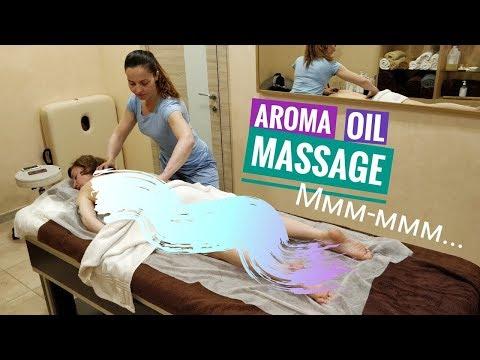 Аромамассаж с горячими камнями / Aromatherapy MASSAGE with hot stone