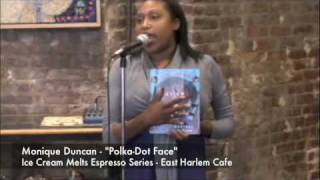"Ice Cream Melts Espresso Series Monique Duncan - ""Polka-Dot Face"" - East Harlem Cafe Thumbnail"