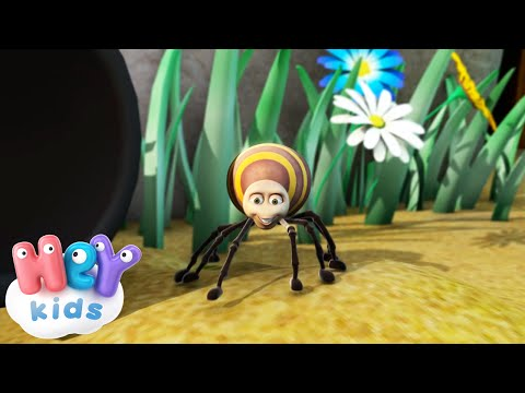 Incy Wincy Spider Nursery Rhyme - HeyKids