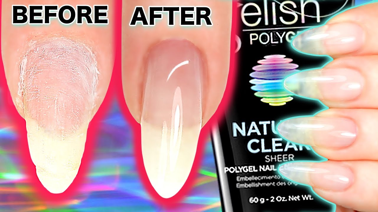 How To Ly Gel Nails Polygel Inc Rebalance Infill Backfill Gelish Review Lication