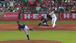 Sea@hou: Lowe Gets Out Of Trouble With Strikeout