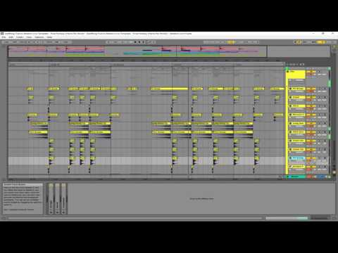 Uplifting Trance Ableton Live Template - Final Fantasy (Hamz Re-Work)