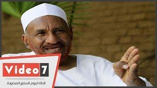 الصادق المهدى: التعاون المشترك المخرج الرئيسى لأزمة حوض النيل