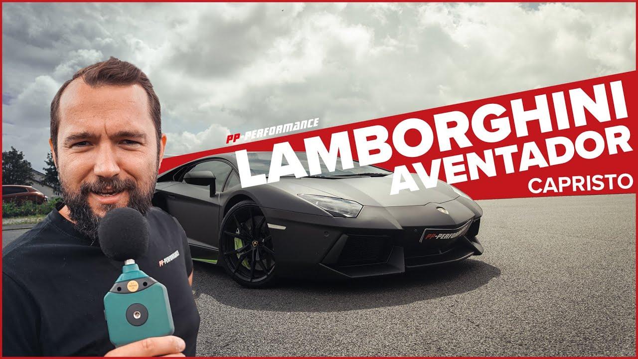Lamborghini Aventador mit Capristo Abgasanlage! Umbau & Soundcheck  PP-Performance