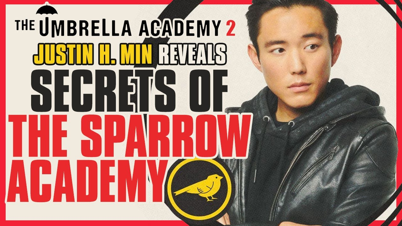 Secrets of The Sparrow Academy Revealed By The Umbrella Academy's Justin H. Min