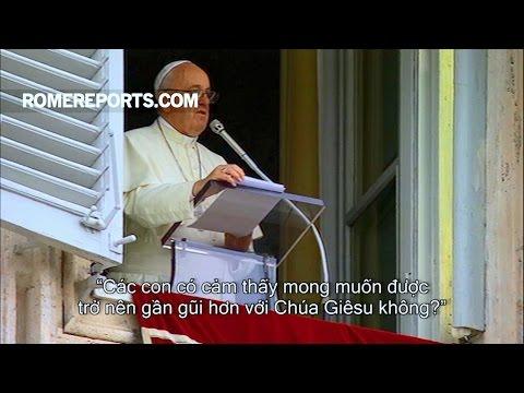 """Đức Giáo Hoàng với Giới trẻ: """"Các con có cảm thấy mong"""