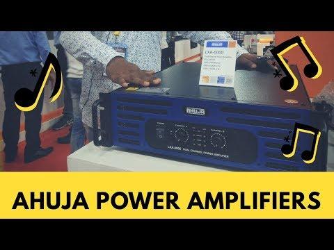 Ahuja Power Amplifiers live from DJ Expo Mumbai... | Delhi Vlogs