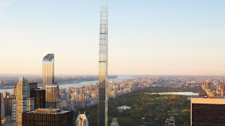 New York City's The Steinway Tower (111 West 57th Street) - The Thinnest Building In The World