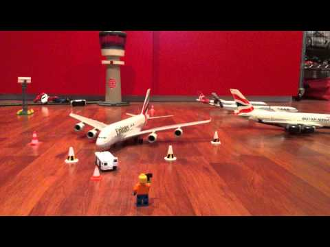 Emirates A380 Turnaround