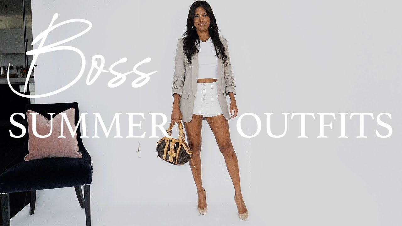 [VIDEO] - BOSS Summer Outfits + Zara Try on Haul July  2019  // Maria Teresa Lopez 1