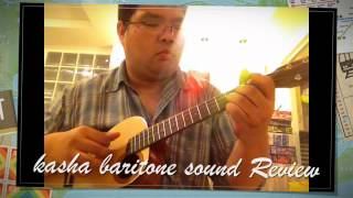 kasha baritone p-uke sound review